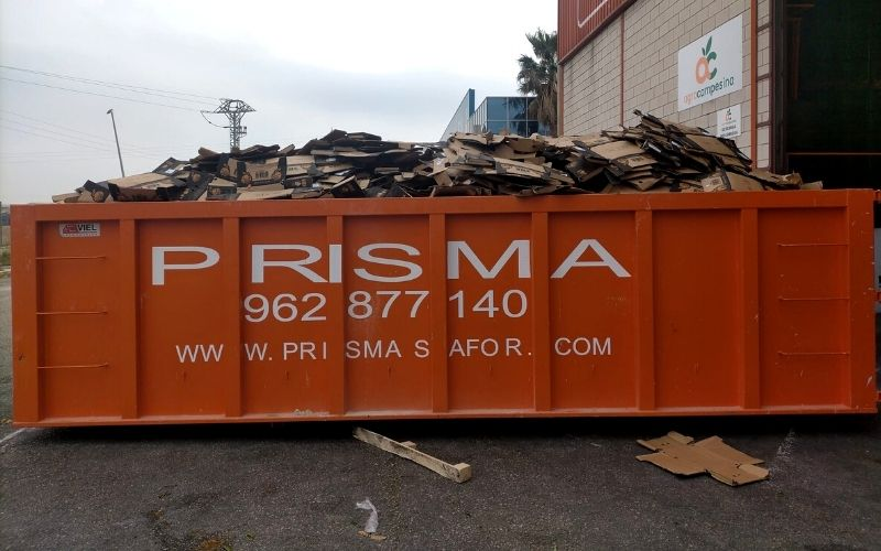 alquiler contenedores agroalimentario Dénia